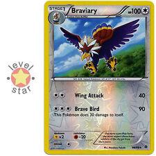 BRAVIARY Emerging Powers 88/98 Parallel Reverse Holo Rare Pokemon Card