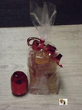 Special fête 100 emballages sachet pour bonbon 120x275 (vide) + 1 bolduc GRATUIT