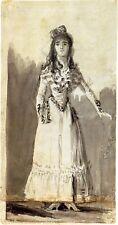 Goya Drawings: Three Spanish Ladies - 3 Fine Art Prints