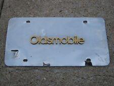 Vintage Oldsmobile Emblem Plaque Plate