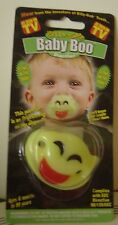 Billy Bob TV Halloween Baby BOO Pacifier Green GLOWS In DARK Ghost Costume