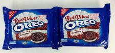 2X Packs Oreo Red Velvet With Cream Cheese Flavor Cookies 12.2oz, X-12/16