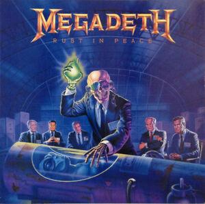 MEGADETH - Rust in Peace (1990 Capitol Records - Vinyl LP)