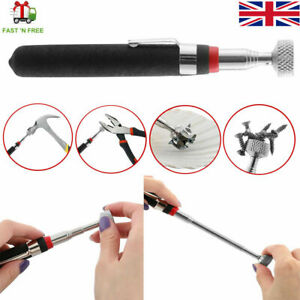 """MAGNETIC PICK UP TOOL 10 LBS  TELESCOPIC  ,EXTENDING UPTO 26"""" MAGNET CLIP BLACK"""