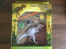 Pintura Su Propio Dinosaurio Brachiosaurus Craft Modelo Kit Regalo de Navidad.