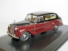OXFORD DIECAST AUSTIN PRINCESS CLARET/BLACK ROYAL FAMILY 1/43 AP004