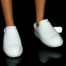 Shoes ~ Barbie Doll Ken Classic White Sneakers Round Toe Tennis Shoes