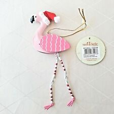 Flamingo Hanging Christmas Decoration by Sass and Belle, Christmas Tree, Festive