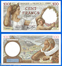 France 100 Francs 1941 4 December Sully Serie J Europe Frcs Frs Free Ship Wrld
