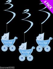 Pancartas y guirnaldas de fiesta color principal azul nacimientos