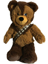 "Chewbacca Build A Bear Star Wars Plush SAMPLE BAB Animal Wookie 17"""
