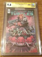CGC SS 9.8 Teenage Mutant Ninja Turtles #86 signed Megan Fox