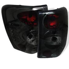 Pair Euro Altezza Tail Lights fits Jeep Grand Cherokee 1999-2004 Smoke Lens