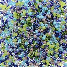 Miyuki Delica Seed Beads Size 11/0 Gemtones Mix 7.2g-Tube (DB-MX14)