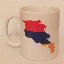 Ceramic Coffee Tea Mug Cup 11oz White Armenia Yes Hai Em Great Gift
