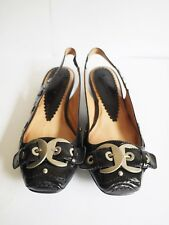 """Orizonte"" Size 38 - Ladies Black 'Jaclyn' Leather Shoes - BNIB! RRP $119.95"