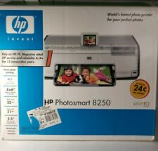 HP Photosmart 8250  Photo Inkjet Printer See Photos For Features New Open.(READ)