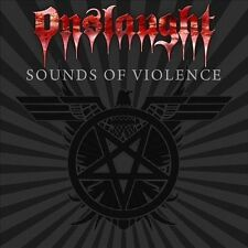 Sounds of Violence by Onslaught (CD, Jan-2011, AFM Records)