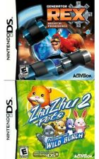GENERATOR REX & ZHUZHU PETS 2 Nintendo DS NEW SEALED LOT Games
