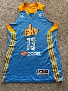 Chicago Sky Official WNBA Jersey Adidas Large
