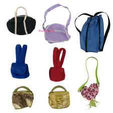 5 Random Fashion Cute Lady Daily Purse Bag Handbag For Barbie Doll Accessories A