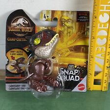 CARNOTAURUS TORO SNAP SQUAD CAMP CRETACEOUS - Jurassic World Fallen Kingdom 005