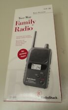 Two-Way Family Radio Radio Shack 21-1810 Water Resistant Commercial Quality