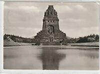 Ansichtskarte Leipzig - Blick auf das Völkerschlachtdenkmal - schwarz/weiß