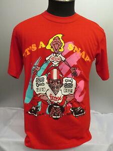 Calgary Stampeders Shirt (VTG) - Nescafe Promo Piece Rare - Men's Large