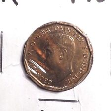 CIRCULATED 1937 3  PENCE UK COIN (101016)1
