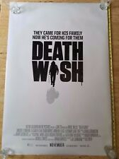 DEATH WISH NEW ORIGINAL Authentic DS rolled Theater Movie poster 27 x 40