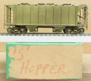 OMI/Overland Models -  2-Bay Covered Hopper *BRASS* S-Scale