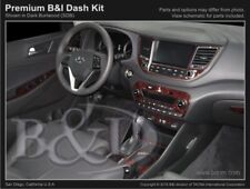 Dash Trim Kit for HYUNDAI TUCSON 16 17 carbon fiber wood aluminum