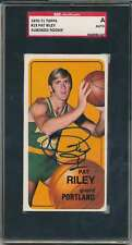 1970-71 TOPPS #13 PAT RILEY RC ROOKIE SGC A AUTHENTIC AUTO AUTOGRAPH S3003