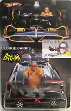 Hot Wheels CUSTOM '66 TV SERIES BATMOBILE George Barris Tribute RR LTD #16/25!