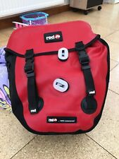 NEW Red Cycling Products WP100 Cycling bag/pannier. 100% WATERPROOF