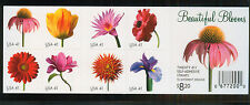 U.S. - 4186a - Complete Booklet Pane of Beautiful Blooms (4186-75) - NH (cv 30)