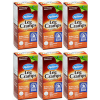 6 Pack Hyland's Leg Cramps, Relax Calf & Foot Cramps- 100 Tablets Each