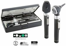 NEW ADC 5110N Dual Handle Pocket Otoscope Ophthalmoscope Set w/ Case