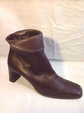 RIVA Brown Ankle Leather Boots Size 41