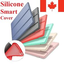 For iPad Stand Case Smart Silicone Slim Soft TPU Cover Mini Air Pro 7 6 5 4 3 2