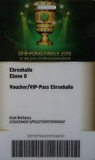 Voucher / VIP Pass DFB Finale 2015 Dortmund - Wolfsburg (Stadt Wolfsburg)