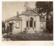 Deutschland, Atelier du peintre Friedrich Wilhelm Klose à Carlsruhe lVintage alb