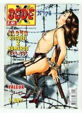 BD adultes  Bédé X N°74, Recueil des numéros 134/135