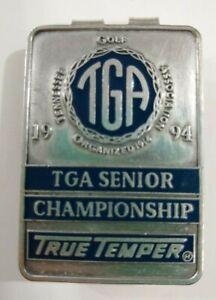 Tennessee Golf Association TGA Senior Championship 1994 Silver Plated Money Clip