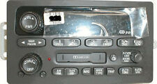 Trailblazer Envoy OEM CD Cassette radio. Factory original remanufactured stereo