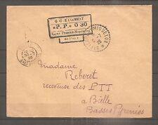 LETTRE SPM SAINT PIERRE ET MIQUELON FRANKREICH PP 030 1926 USED