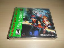 Chrono Cross Brand New Factory Sealed Playstation PS1 Game