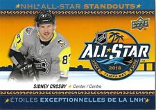 Sidney Crosby #AS-2 - 2018-19 Tim Hortons - NHL All-Star Standouts