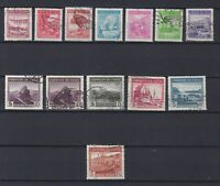 CHILE 1936, Sc#186-196, part of set, CV $47, MH/Used